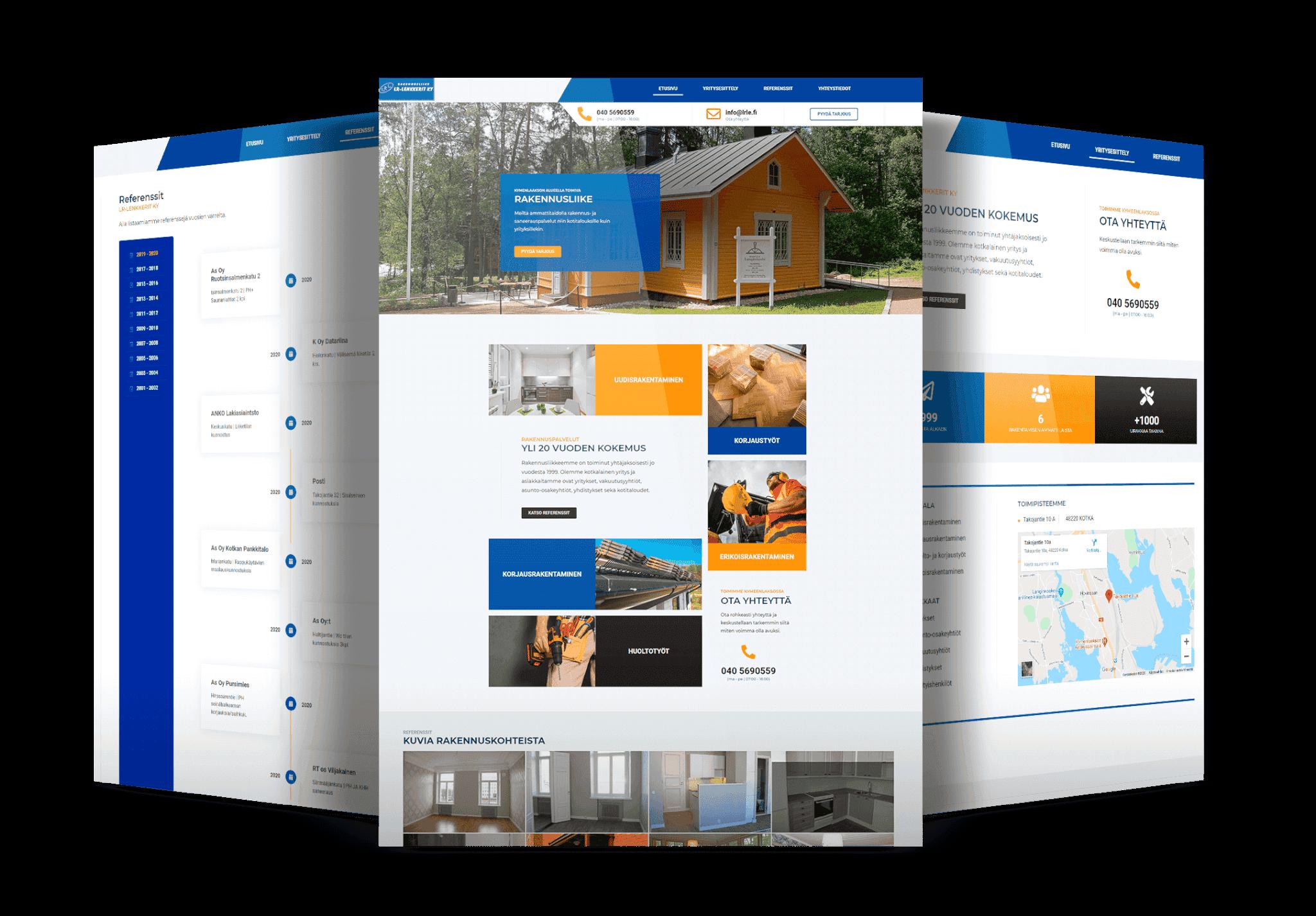 Rakennusala-nettisivut