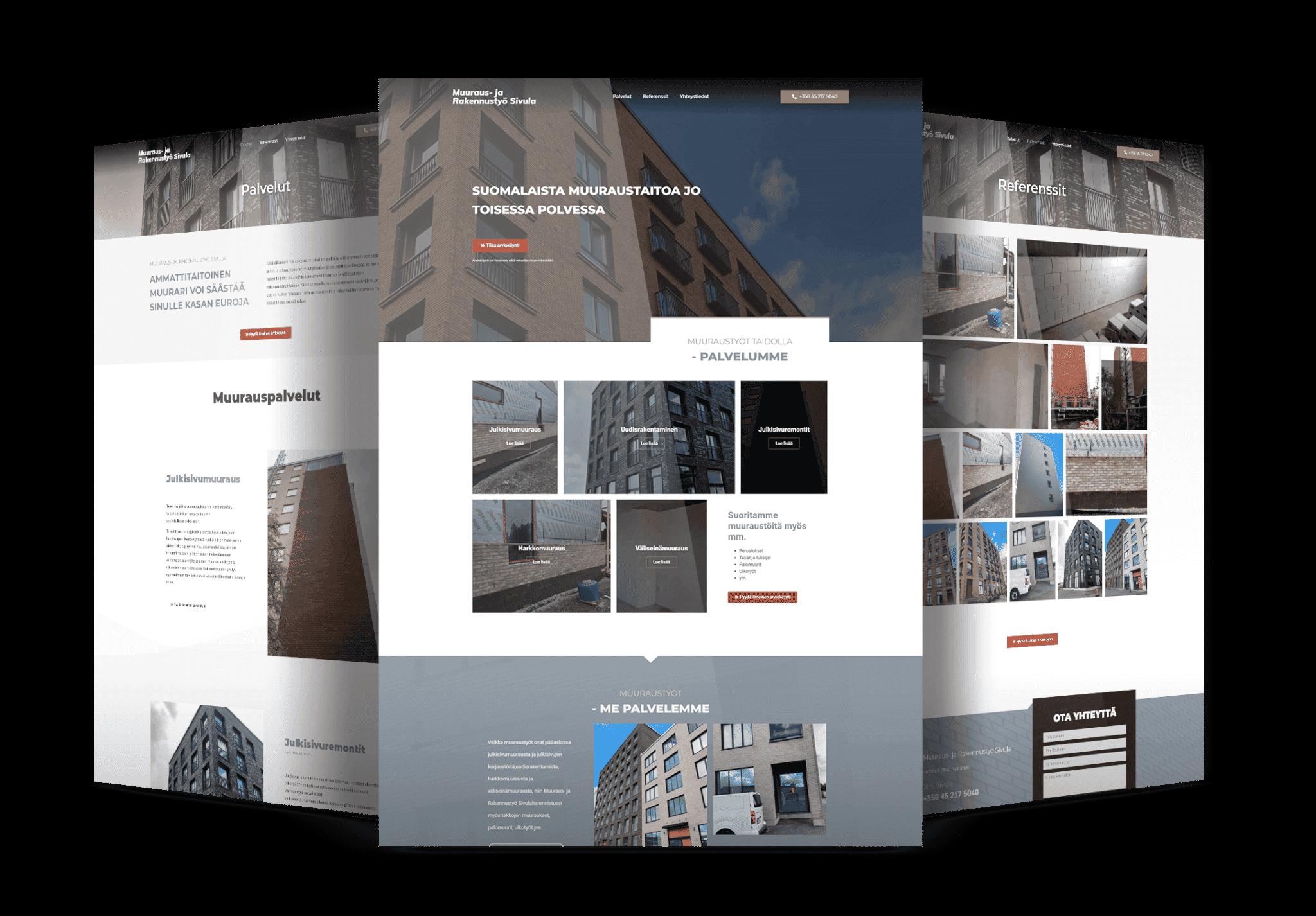 Rakennusalan-nettisivut